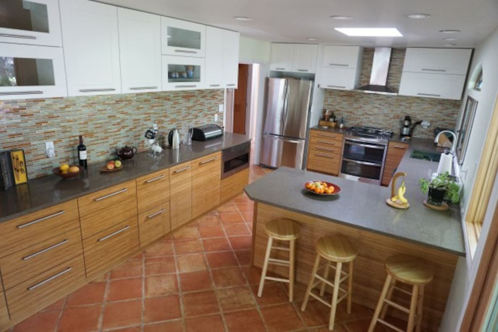 Kitchen renovated in 2015