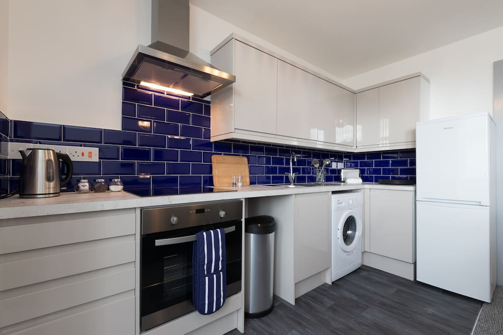 Fully fitted and equipped kitchen.