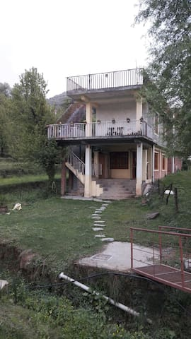 Nandini's out house near dal lake at naddi.