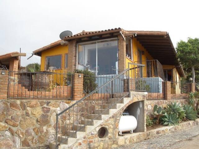 HOUSE OVERLOOKING ENSENADA BAY,BAJA CALIFORNIA