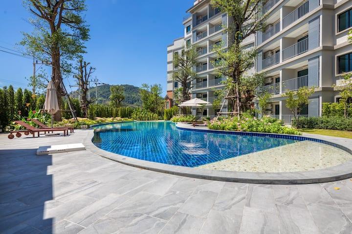 Sweet 1 Bedroom Apartment@Nai Yang beach–250m