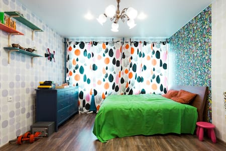 Светлая милая квартирка в центре - Sankt-Peterburg - Appartement