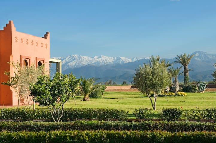 El Goute,  stunning rural 8 bed villa, sleeps 16 - Marrakesh