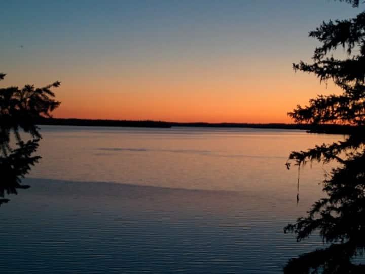 Endless Sunsets  on Sheridan Lake