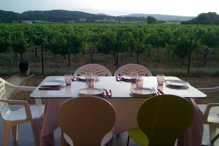 Au pied des vignes, Villa, 3 chbres - Pont-Saint-Esprit