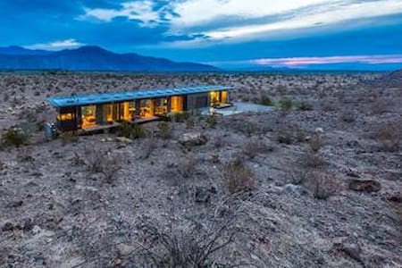 Glass & Steel House at Indian Head - Borrego Springs