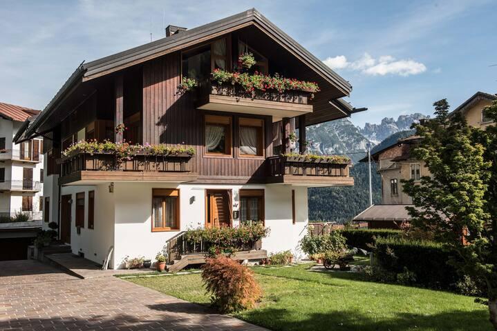 Casa Marmarole a Calalzo con 3 camere (3 bagni)