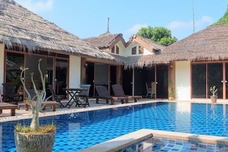 Spacious 3 bed pool villa, sleeps 9 - Hua Hin - Villa
