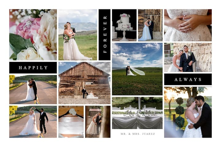 Ask about having your wedding at the Bar 7 Ranch!