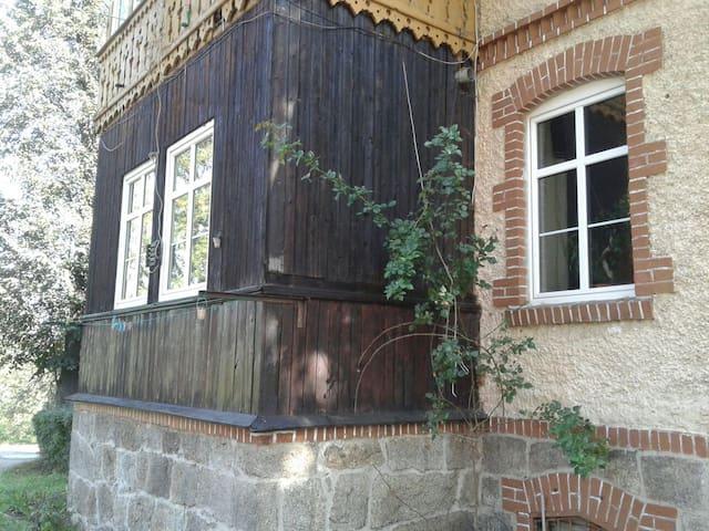 Apart z ogrodem, panoramą Karkonoszy KarpaczSkalny