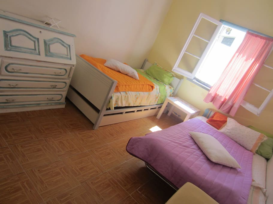 double single room, with extra bed, perfect for 2-3 pax