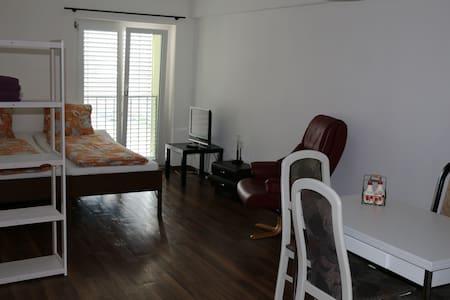 Kleine individuelle, moderne 2 Zimmerwohnung