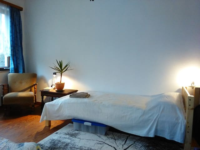 Einzel- oder Doppelzimmer auch für eine Nacht