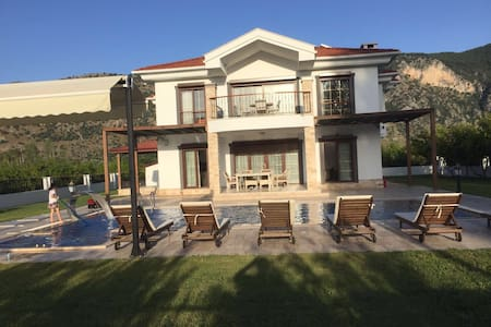 Luxury and comfortable house - Ortaca - Huvila
