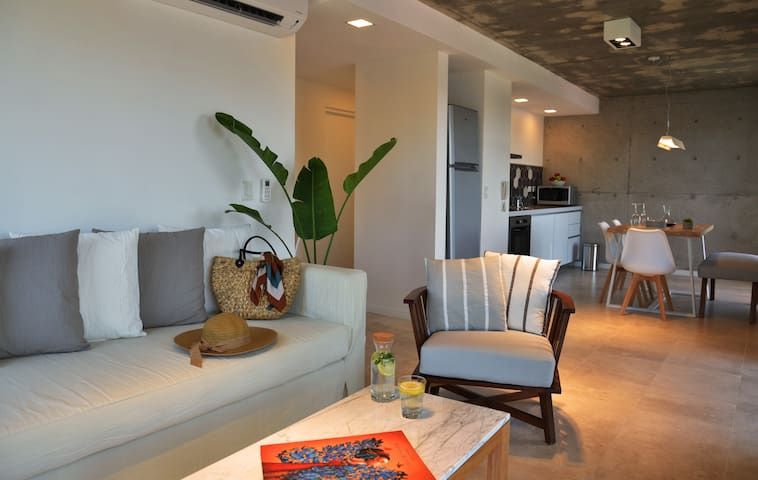 Apartamento boutique de tres ambientes