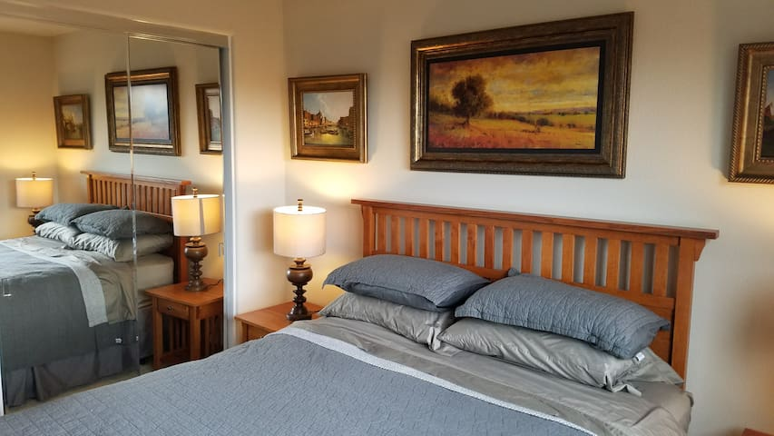 Beautiful Loft Bedroom close to SJ Airport