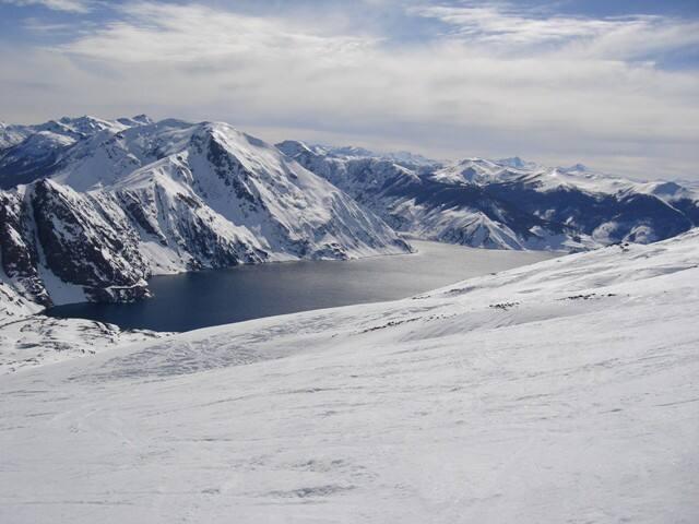 Parque Nacional Laguna del Laja, Antuco, Chile.