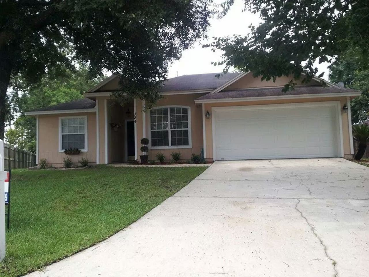 My home is a 3 bedroom, 2 bath home at the end of a Cul-de-sac with a HUGE fenced in back yard!