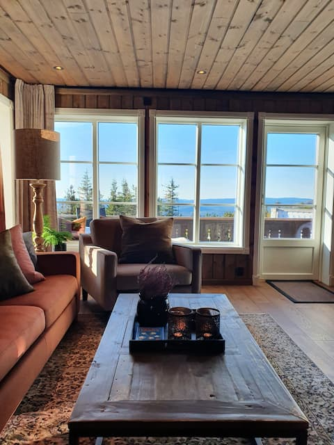 Perfectly situated  and cozy cabin at Lifjell