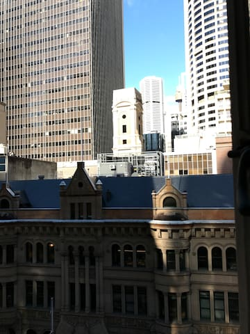 In the heart of Sydney CBD