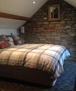 Barn conversion in superb rural village - sleeps 4 - Rumah