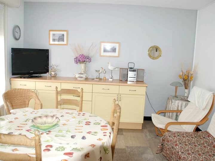 Apartment with 2 bedrooms in Wimereux, with wonderful city view and WiFi - 300 m from the beach