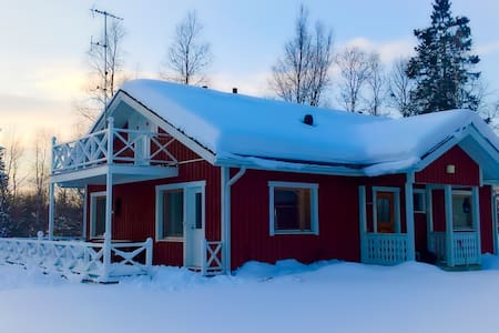 Nice house in a peaceful area, nearby Ivalo centre - Inari - House