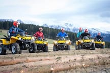 How about extreme adventure on quadbikes?