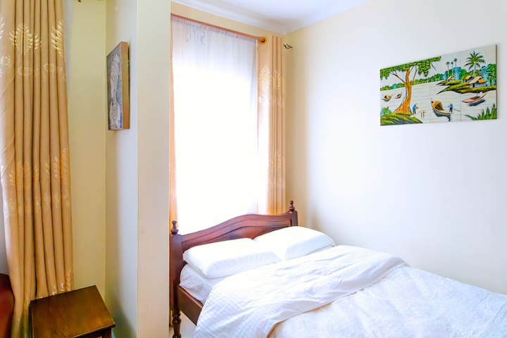 Two spacious private bedrooms nestled in serenity.