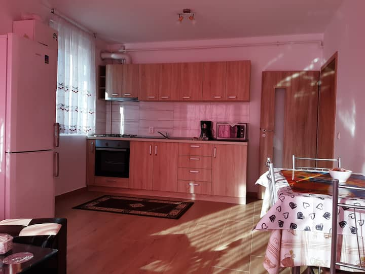 Entirely new private apartament which pleases all!