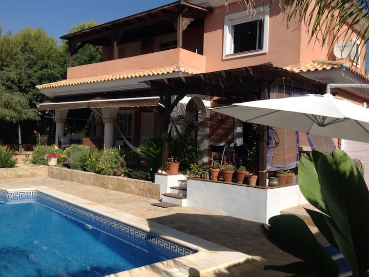 villa standing golf, tennis, Padel, piscine privee