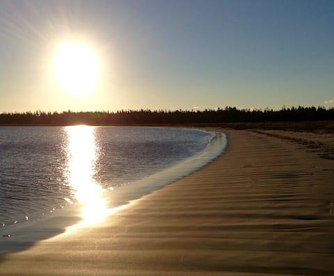 Classic Nova Scotia Beach House - White Sand Beach