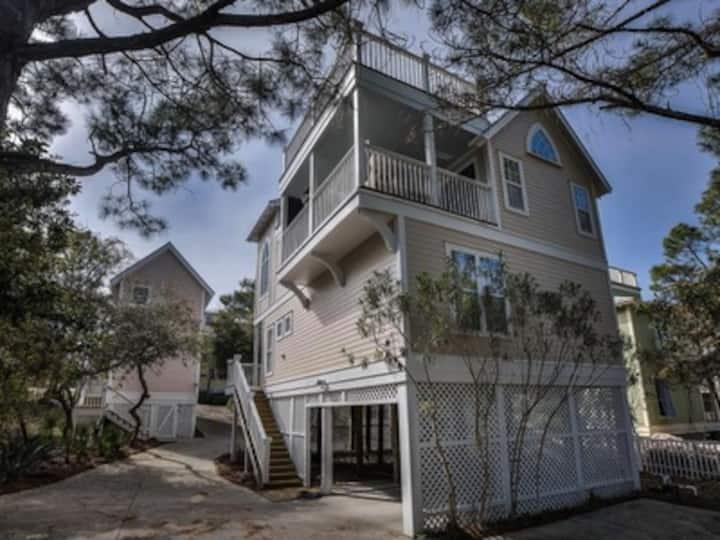 Cottage House 4bd/3bath off 30A