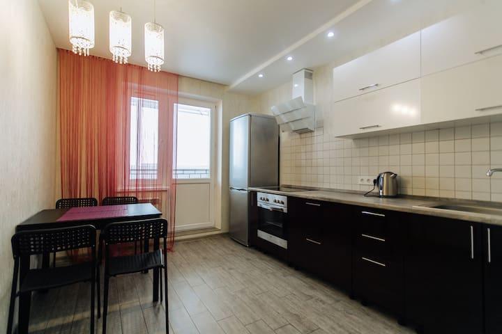 квартира с евроремонтом на заливе - Cheboksary - Apartment