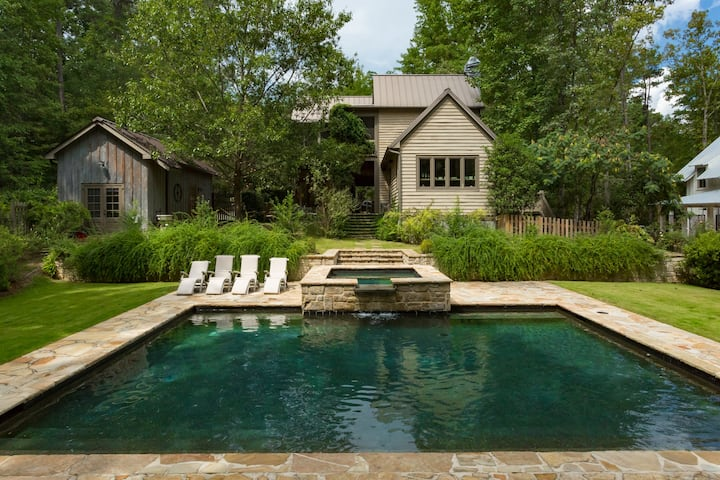 The Pool House at Serenbe