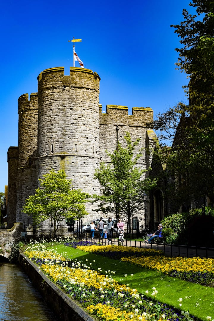 The 13th Century Westgate of Canterbury