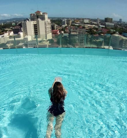 Studio Condo with a panoramic view of Cebu - Cebu City - Kondominium