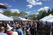 Flagstaff Community Market a few blocks away