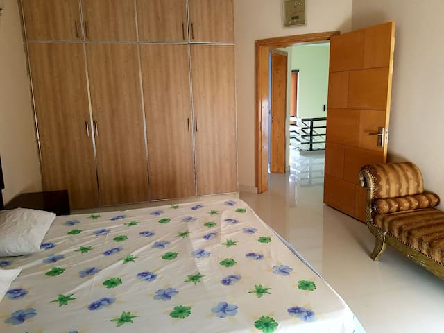Bedroom B in a new house in Lahore Cantt area