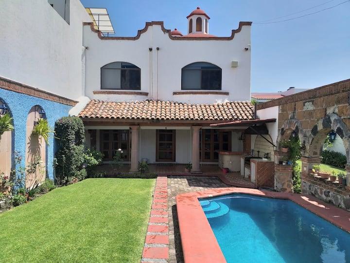 """""""Casa Azul"""", un espacio para el disfrute familiar."""
