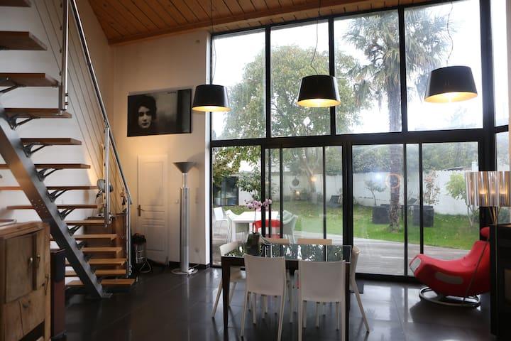 L'Orient 1 belle maison Esprit Loft - Rennes - Maison