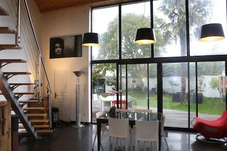 L'Orient 1 belle maison Esprit Loft - Rennes - Hus