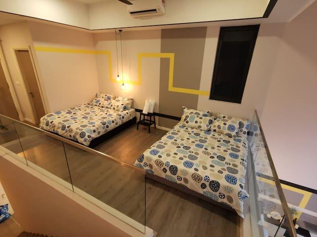 New beds arrangement setup