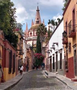 Hermosa estancia, centro San Miguel de Allende