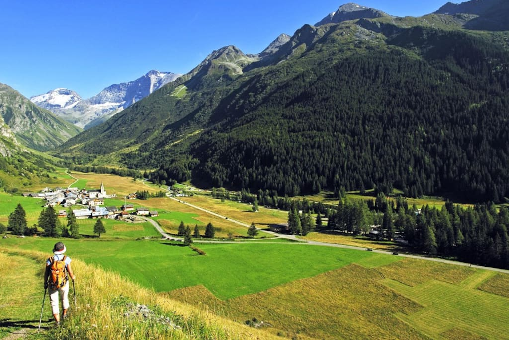Le dahut flats for rent in champagny en vanoise - Office de tourisme champagny en vanoise ...