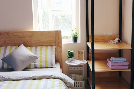 HIHI - Private Room for 2 with Window