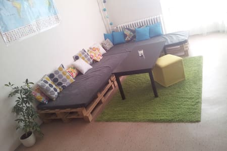 Cozy bright room in a calm area ! - Pardubice - Adosado