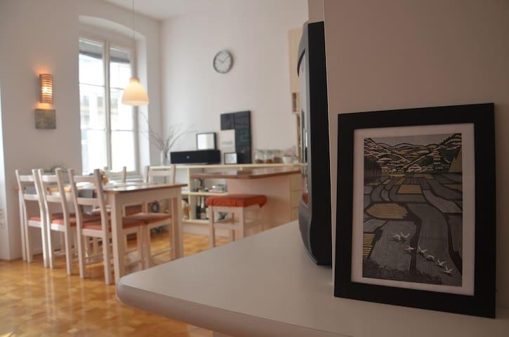 Cozy & Hip Flat in Old Town - Ljubljana - Wohnung