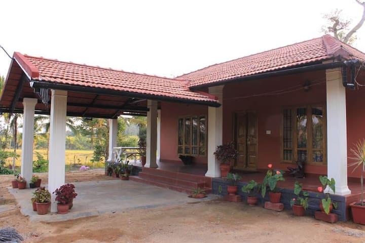 A farm stay experience near Virajpet
