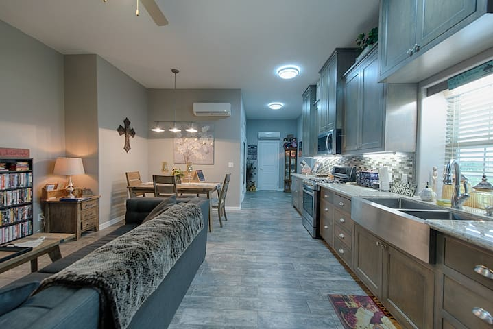 Living & dining & kitchen